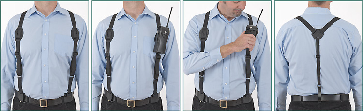 Leather Harnesses For Mobile Munication Devices. Harness Radio Utility. Wiring. Leather Harness Radio Holster At Scoala.co